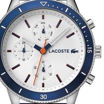 Lacoste Steel 44mm Quartz 2010993 new