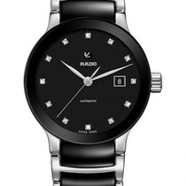 Rado Centrix Steel 38mm Black No numerals