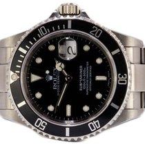 Rolex Submariner Date gebraucht 40,00mm Schwarz Datum Stahl