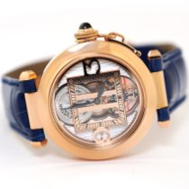 Cartier Pasha pre-owned 38mm Tourbillon Leather