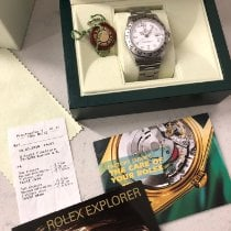 Rolex Explorer II Steel 40mm White No numerals United States of America, Maine, Bangor