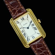 Cartier Tank (submodel) Cartier Stepped Case Jumbo Bueno Acero y oro 28mm Cuerda manual México, Guadalajara