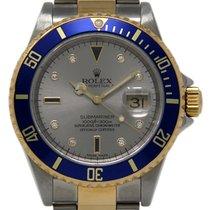 Rolex Submariner Date Acero 40mm Plata