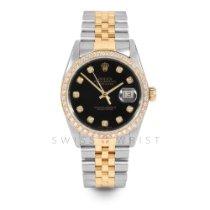 Rolex 16013 Or/Acier 1978 Datejust 36mm occasion