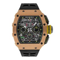 Richard Mille RM 011 Rose gold 42mm Grey Arabic numerals