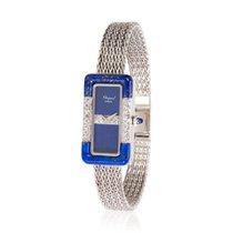 Chopard Dress Women's Diamond and Lapis Watch in 18K White...