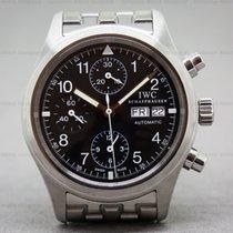 IWC IW370607 Pilot Chronograph Black Dial SS (26637)