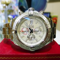 Breitling Super Avenger Ii A13371 Chronograph Automatic Steel...