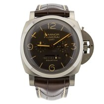 Panerai Luminor 1950 8 Days GMT Titanium 47mm Brown United Kingdom, London