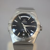 Omega Constellation Day-Date neu 38mm Stahl