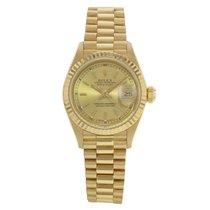 Rolex Datejust President 69178 18K Yellow Gold Ladies Watch(18...