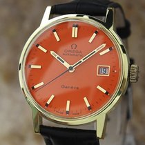 Omega Geneve 35mm Swiss 1970s Automatic Gold Plated Vintage...