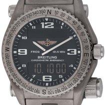 Breitling : Emergency :  E76321 :  Titanium