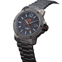 Liv Watches GX Base Swiss Made 3 Hand | Gray IP Case | Black Dial