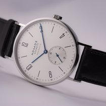 NOMOS Tangente Neomatik Steel 38.5mm Silver Arabic numerals United States of America, New Jersey, Princeton