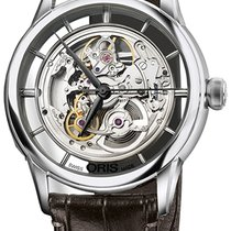 Oris Steel Automatic Transparent new Artelier Translucent Skeleton