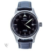 IWC Pilot Mark Steel 38mm Black Arabic numerals United Kingdom, London
