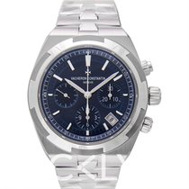 Vacheron Constantin Overseas Chronograph Blue Steel 42.5mm -...