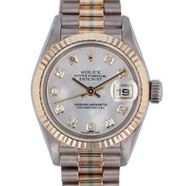 Rolex 26mm Automatic 1999 pre-owned Lady-Datejust Mother of pearl
