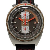 Breitling Chrono-Matic (submodel) Steel 42mm Brown Arabic numerals