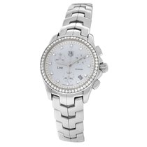TAG Heuer Link Lady Steel 33mm Mother of pearl Arabic numerals United States of America, New York, New York