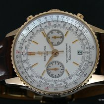 Breitling Red gold pre-owned Navitimer