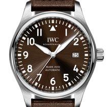 IWC Pilot Mark Staal 40mm Bruin
