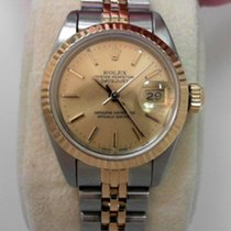 Rolex Lady-Datejust Золото/Cталь 26mm Без цифр