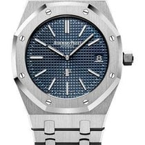 Audemars Piguet Royal Oak Jumbo neu 2019 Automatik Uhr mit Original-Box und Original-Papieren Audemars Piguet Royal Oak Jumbo Watch 15500ST.OO.1220ST.01