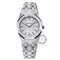 Audemars Piguet Royal Oak Lady White gold 33mm Silver No numerals United States of America, New York, NEW YORK