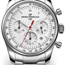 Girard Perregaux Competizione Steel 42mm Silver No numerals