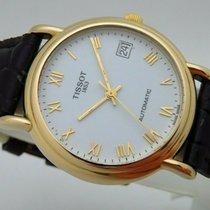 Tissot Le Locle Ouro amarelo 35mm Branco Romanos
