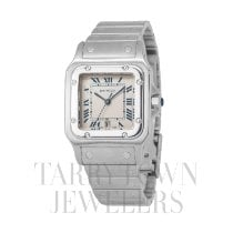 Cartier Santos Galbée Steel 29mm Champagne Roman numerals United States of America, New York, Hartsdale