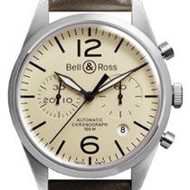 Bell & Ross Acero 41mm Automático BR-126-ORIGINAL-BEIGE nuevo