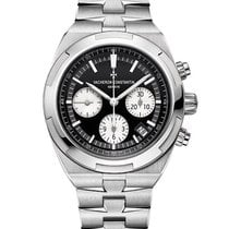 Vacheron Constantin Overseas Chronograph Steel 42.5mm Black No numerals United States of America, New York, New York