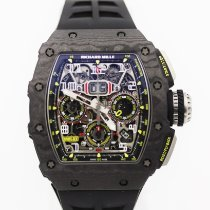 Richard Mille RM 011 Keramik 44mm Transparent Arabisch