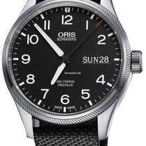 Oris Big Crown ProPilot Day Date Steel 45mm Black United States of America, New York, New York City