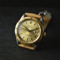 Rolex Datejust Turn-O-Graph Guld/Stål 36mm Champagnefärgad Inga siffror