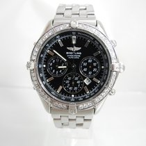Breitling Shadow Flyback Steel 38,2mm Black No numerals