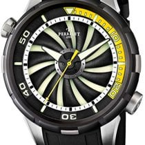 Perrelet Turbine Diver new 2012 Automatic Watch with original box A1067-2