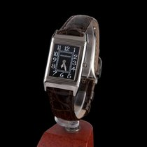 Jaeger-LeCoultre Reverso Classic Small Duetto Or blanc 23mm Noir Arabes