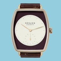 NOMOS Lux 942 New Rose gold 38.5mm Manual winding
