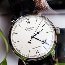 Glashütte Original Senator Excellence 1-36-03-01-02-30 Glashutte Senatore Data Lancette Blu new
