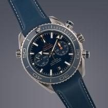 Omega Seamaster Planet Ocean Titanium Co-Axial Chronograph...
