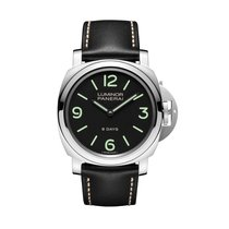 Panerai LUMINOR BASE 8 DAYS ACCIAIO - 44MM PAM00560
