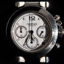 Cartier Pasha Automatic Date Chronograph W31039M7
