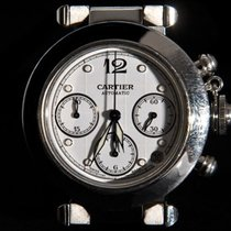 Cartier Pasha W31039M7 Automatic Date Chronograph