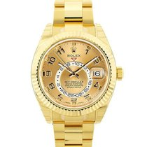 Rolex Sky-Dweller Yellow gold 42mm Champagne United States of America, California, San Francisco