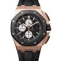 Audemars Piguet 26401RO.OO.A002CA.01 Or rose Royal Oak Offshore Chronograph occasion