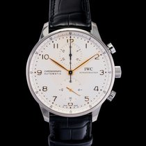 IWC Portuguese Chronograph new Automatic Watch with original box and original papers IW371445
